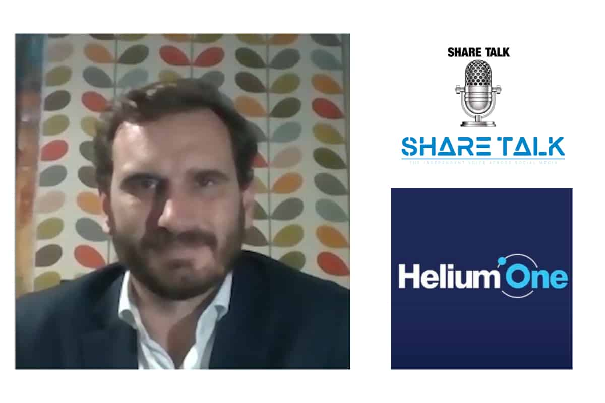 David Minchin, Chief Executive Officer, Helium One Group Ltd (HE1.L) Interview