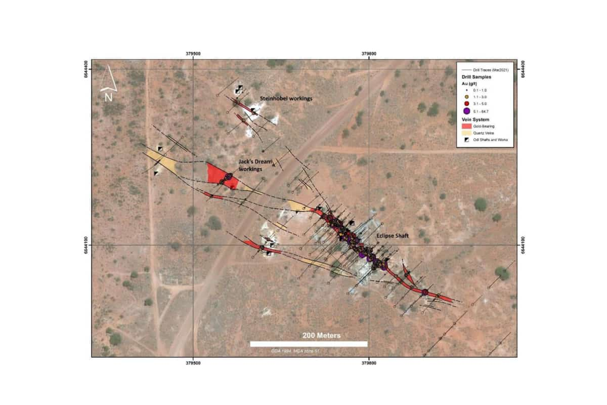 Empire Metals Ltd (EEE.L) Next Phase at Eclipse Gold Project
