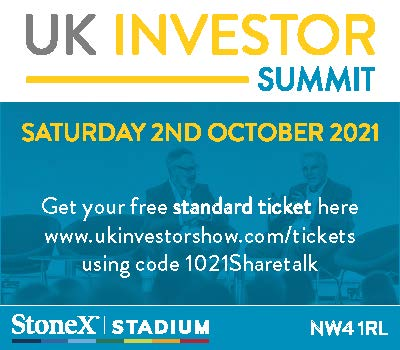 Free Ticket To UK Investor Show 2021
